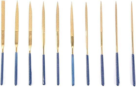 Titanium Coated Assorted File Rasp Needle Tools for Metal Stone Working