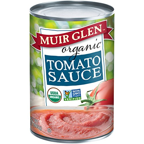 Muir Glen Tomato Sauce (Muir Glen Organic Tomato Sauce, No Sugar Added, 15 Ounce Can (Pack of 12))
