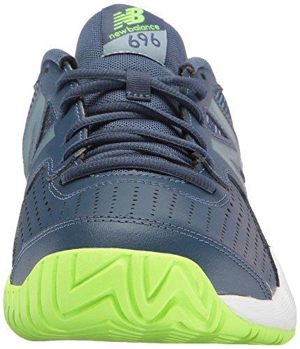 Der Tennis-Schuh des neuen Balance-Männer 696v3 Pigment / Energie Kalk