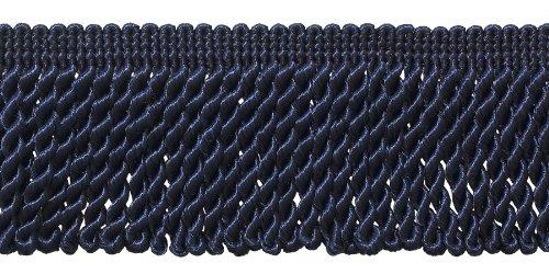 10 Yard Value Pack of Ultramarine Blue 2.5 Inch Bullion Fringe Trim, Style# EF25 Color: Royal Blue - J3 (30 Ft / 9 (Conso Bullion Fringe)