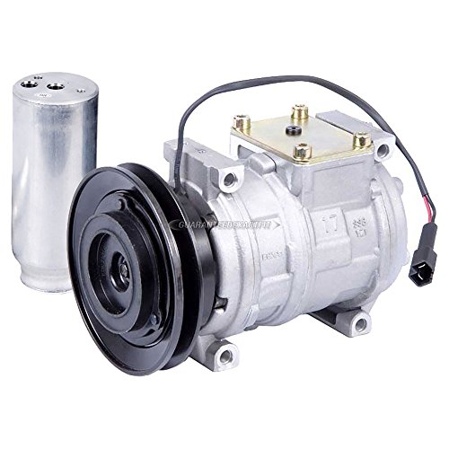 AC Compressor w/A/C Drier For Chrysler Concorde LHS 300M & Dodge Intrepid - BuyAutoParts 60-86300R2 NEW ()