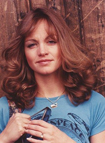 (Pamela Sue Martin Portrait in Blue Shirt Photo Print (8 x 10))