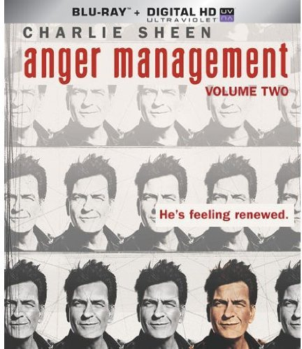 Blu-ray : Anger Management: Volume 2 (Boxed Set, Ultraviolet Digital Copy, AC-3, Digital Theater System, )