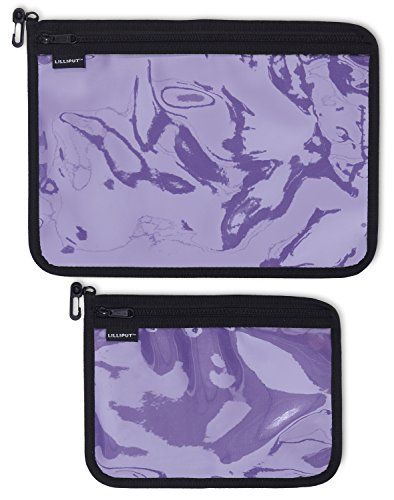 Travel Pouches Set - 2 Organizing Clear Bags for Toiletries, Makeup & (Find Bags Accessories)