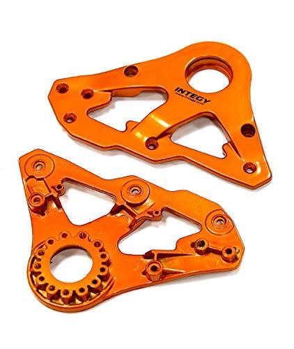 Integy RC Model Hop-ups C24940ORANGE Replacement Left Side Plastic Main Frame for Snowmobile & Sandmobile Conversion