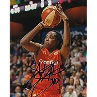 fan products of SHEKINNA STRICKLEN signed (CONNECTICUT SUN) WNBA basketball 8X10 photo W/COA #1 - Autographed College Photos
