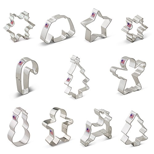 Winter Christmas Cookie Cutter Set