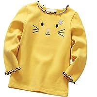 DEBAIJIA Bebe Infantil Recién Nacido Camisa Blusas Niña de Sweatshirt Lindo Transpirable Suave Cómodo Mantener Caliente…