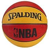 New Ball Spalding NBA Mini Basketball - Red/Orange