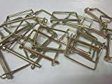 """20 SQUARE 1/4"""" X 2-3/4"""" CANOPY PTO PINS CAMPER AWNING TRAILER HITCH HOOK PIN"""