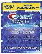 CREST 3D White, Whitening Toothpaste Arctic Fresh,