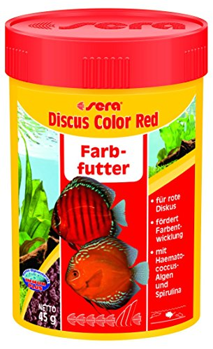 sera 332 discus color Red 1.5 oz 100 ml Pet Food, One ()