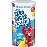 Kool-Aid Jammers Zero Sugar, Tropical Punch, 10 Count, 60 ...