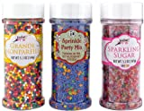 Party Sprinkles (3 Jars)