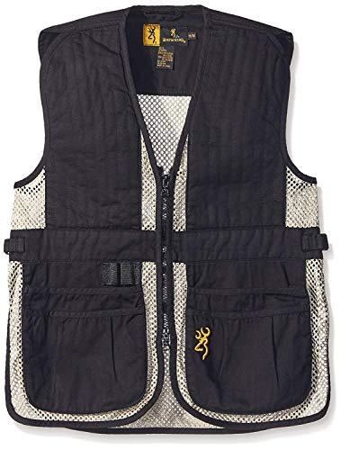 Browning Junior Trapper Creek Vest, Black/Tan, -