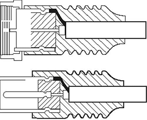 1aTTack.de SAT Antennenkabel 15 Meter 2X geschirmt F-Stecker  F-Stecker SAT wei/ß F-F 75db