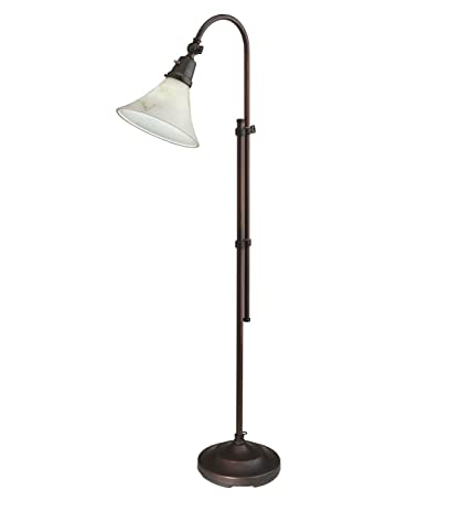 OttLite(R) High Definition 20 Watt Lexington Floor Lamp Mocha ...