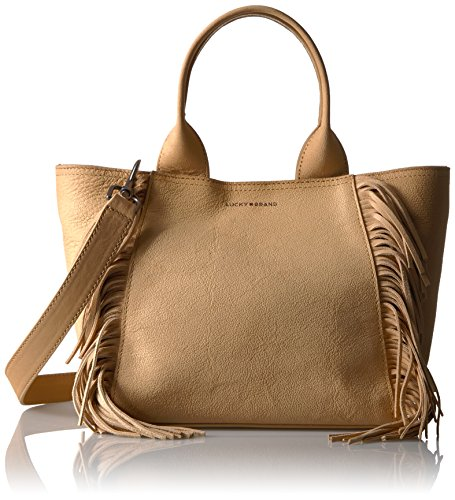 Lucky Koi Small Fringe Tote, Glazed