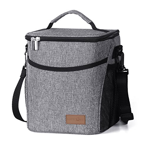 Lifewit Lunchtasche Mittagessen Tasche Thermotasche Kühltasche Isoliertasche Picknicktasche für Lebensmitteltransport