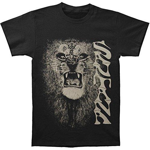 Santana Men's White Lion T-shirt Black