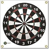 Arrowmat Dartboard Foam Rubber Target Face, 17 x 17-Inch