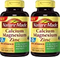 Nature Made Calcium, Magnesium & Zinc with Vitamin D Tablets 300