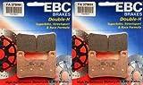 #9: EBC Sintered Double H Front Brake Pads (2 Sets) 2006-2012 Suzuki M109R Boulevard / FA379HH