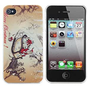 Christmas Gifts Car Design PC Hard Case Cover For iPhone 4 4S
