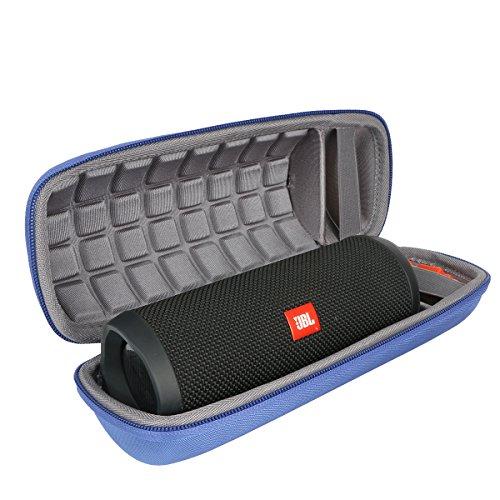 co2crea Hard Carrying Travel Case for JBL Flip 3 4 Waterproof Portable Bluetooth Speaker, Blue