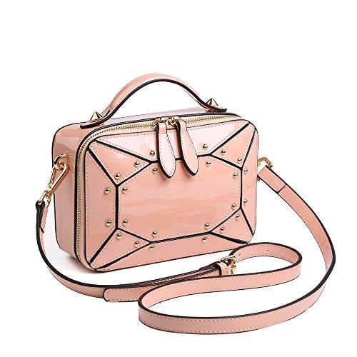 Pink De Dama Gris Moda GWQGZ Bolso AHPYqwYX