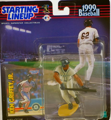 - KEN GRIFFEY JR. / SEATTLE MARINERS 1999 MLB Starting Lineup Action Figure & Exclusive Collector Trading Card