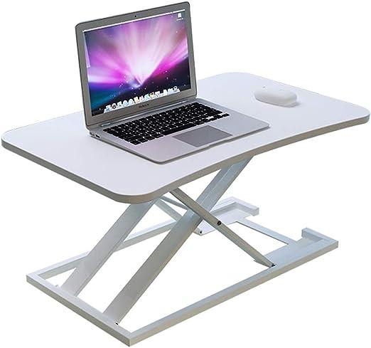 BETTY Tables Stand-up Computer Lift Table Notebook Desktop Computer Desk Stand Office Workbench Desktop Increase Shelf Color : B