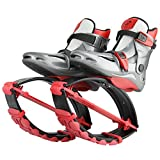 Joyfay Red Unisex Fitness Jumping Shoes Large