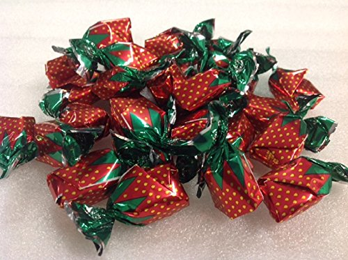 Arcor Filled Strawberry BonBons 1 pound filled hard candy strawberry hard candy