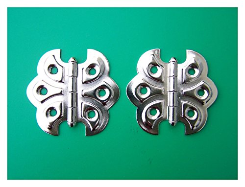 Hinges Flush Mount Full Surface Hinge Antique Style - Butterfly Sold In Pairs