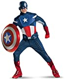 Disguise Mens Plus Size Avengers Captain America Adult Costume