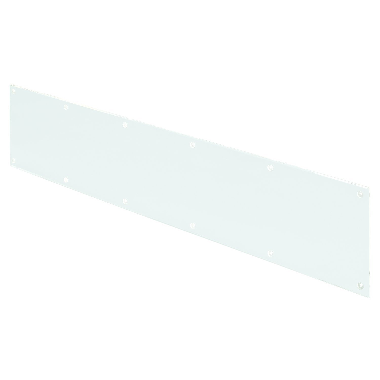 Prime-Line Products J 4926 Kick Plate, 3/16 in. x 34 in. x 8 in, Acrylic, Clear/Transparent, Smooth Finish, by PRIME-LINE (Image #1)