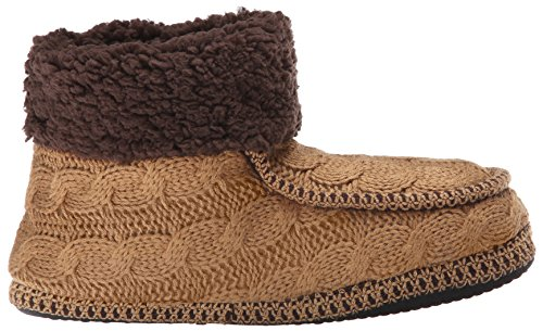 Brown W Cuff LUKS Promo Slipper Boot Camel Women's MUK Moc qIgzWH