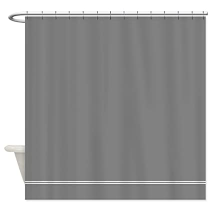 Image Unavailable Not Available For Color CafePress Charcoal Grey Shower Curtain