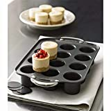 Home Product Carbon Steel Bakeware Tray Muffin Round Non Stick Tins 12 Cups Pan Baking Cake Mould Kitchen Cooking Tools