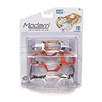 Modarri-The Ultimate Toy Car; Constructive Mix N Match Indoor/outdoor S1 Chrome Body Pack