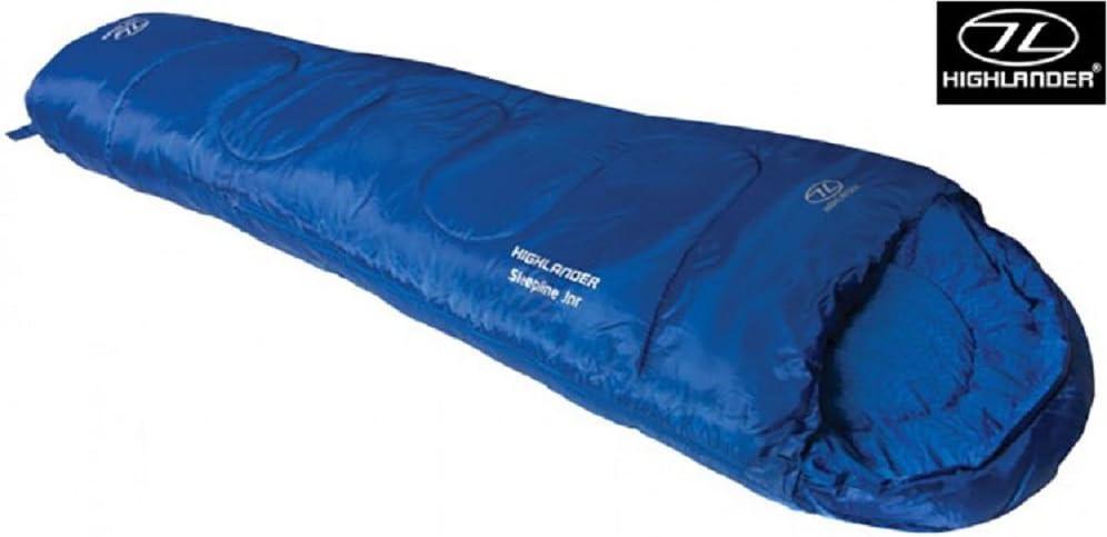 Highlander Sleepline Kids Outdoor Mummy Sleeping Bag