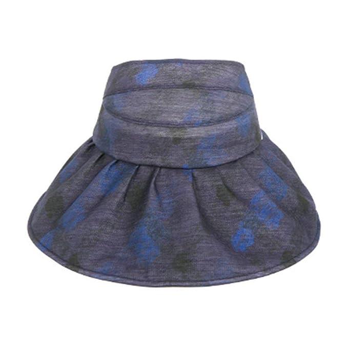 Gorra De Protección Solar Casual para Mujeres Sombrero De Meiduo Visera De  Acogedor Playa para Las Vacaciones De Verano Al Aire Libre Plegable Azul  Marino ... 6ac7d5c62d3