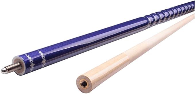 Ommda Taco de billar de dos piezas de madera noble de arce, hecho ...