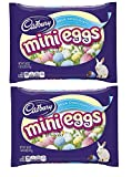 Cadbury Easter Candy Coated Mini Eggs Milk Chocolate, 18-Ounce Packages (2 Pack - Total of 36 Oz)