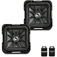 Kicker 11S10L72 Bundle - Two Solobaric L7 10 Dual 2-Ohm Subwoofers