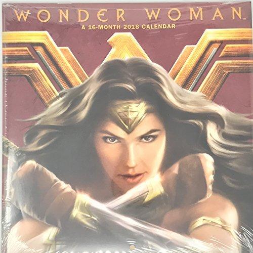 Wonder Woman 16 month 2018 Calendar 10