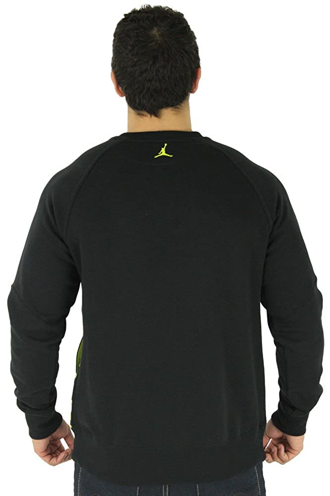 Nike Air Jordan ajx Accomplished sudadera negro/Venom Verde 589347 - 013 - 589347-013_XL, negro/verde (Black/Venom Green): Amazon.es: Deportes y aire libre