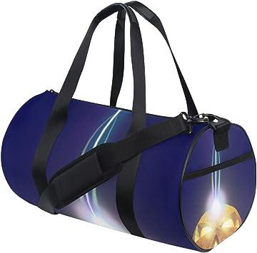 Sports Bag Halloween Pumpkins Mens Duffle Luggage Travel Bags Kid Lightweight Gym bag