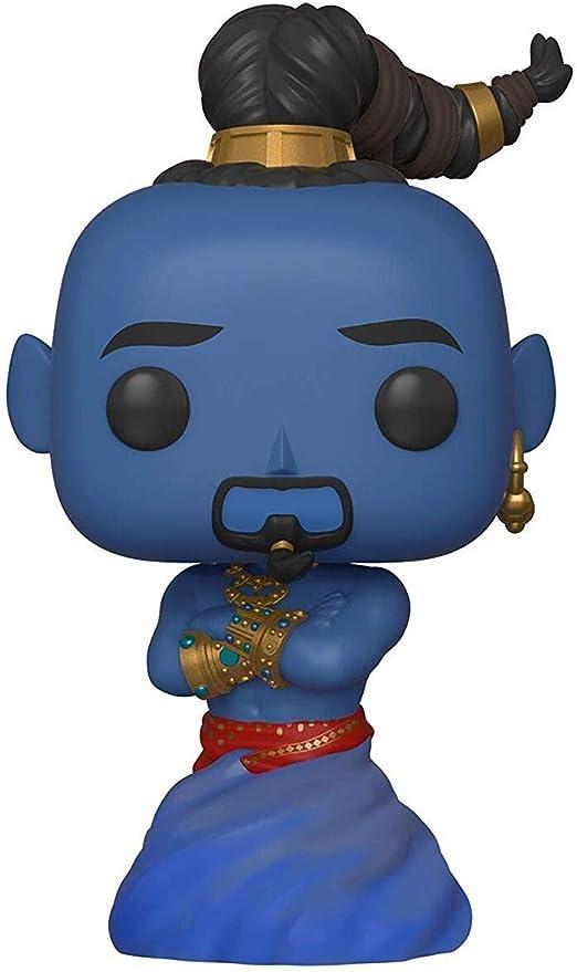 Funko- Pop Vinilo: Disney: Aladdin (Live Action): Genie Figura ...